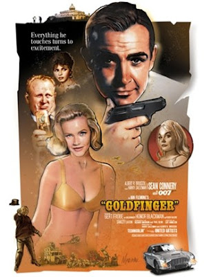 James Bond, Goldfinger, James Bond Goldfinger
