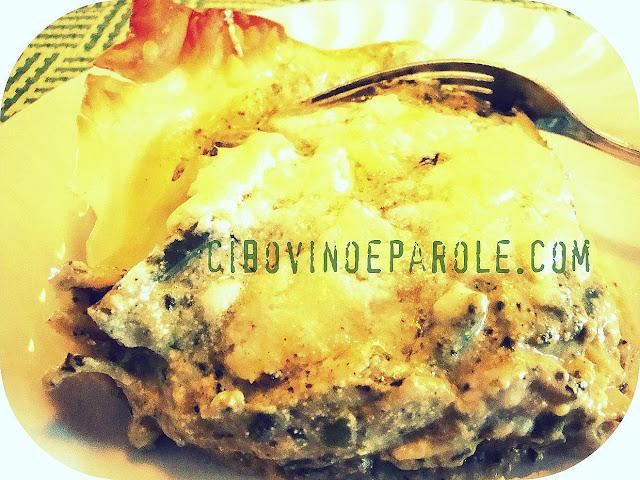 lasagne pesto e fagiolini