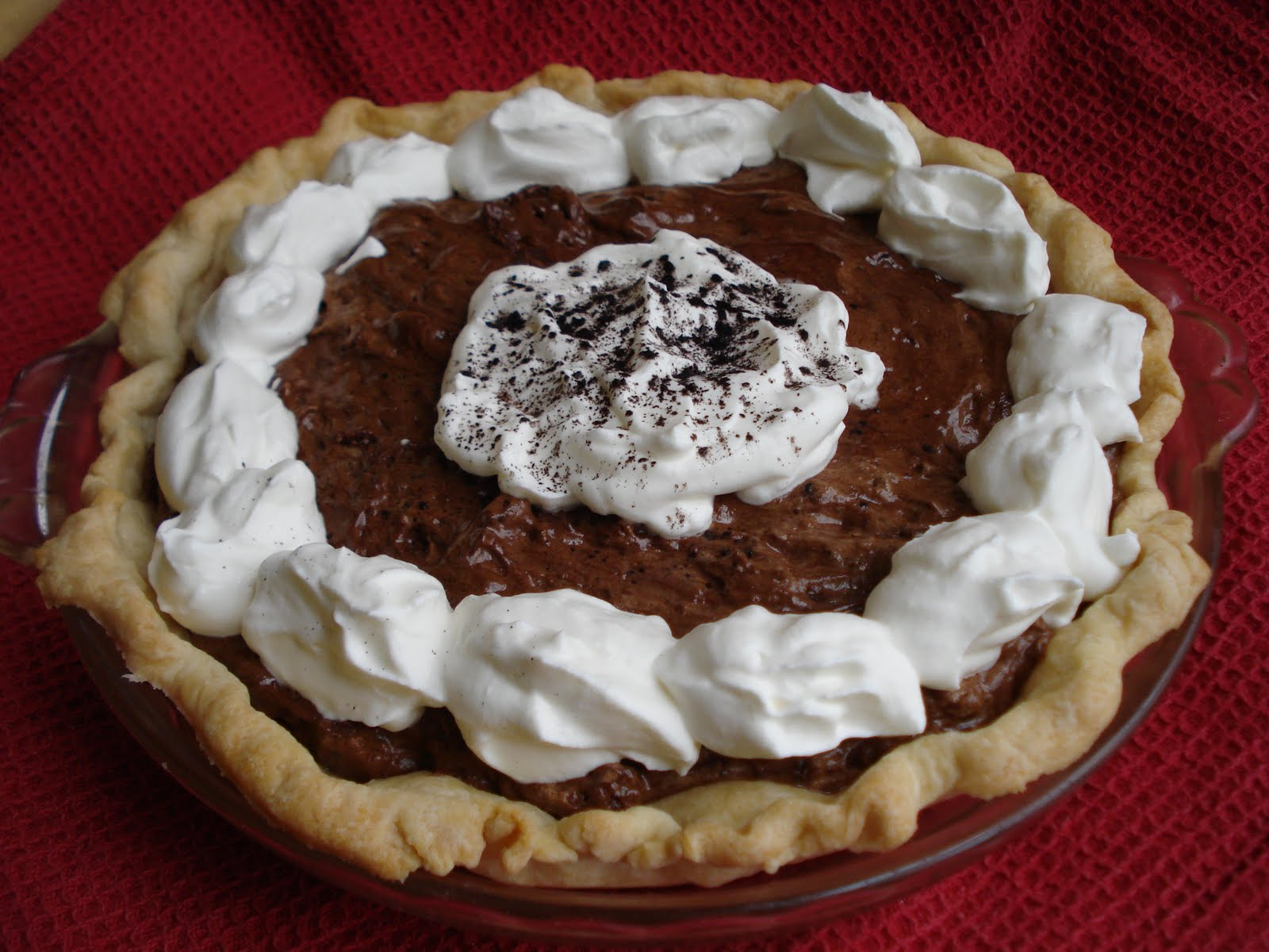 The Cookie Scoop: Chocolate Mousse Pie