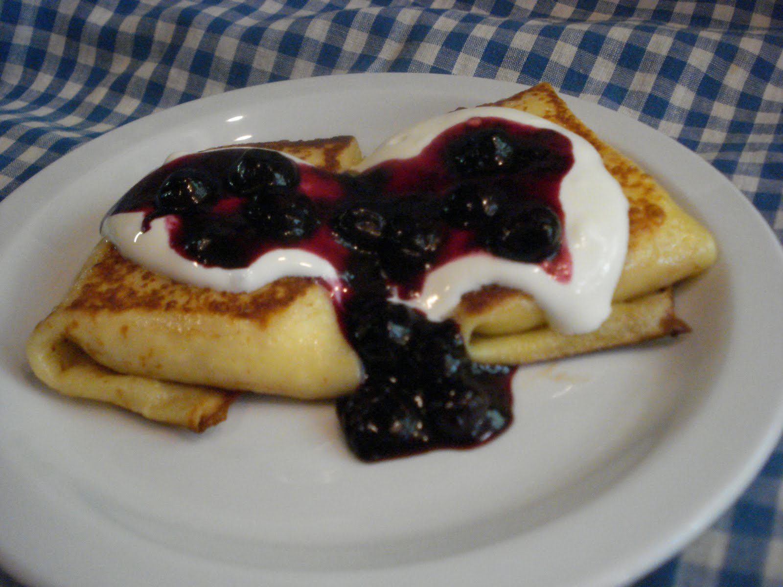 It's been years since I made blintzes and I've been thinking about ...