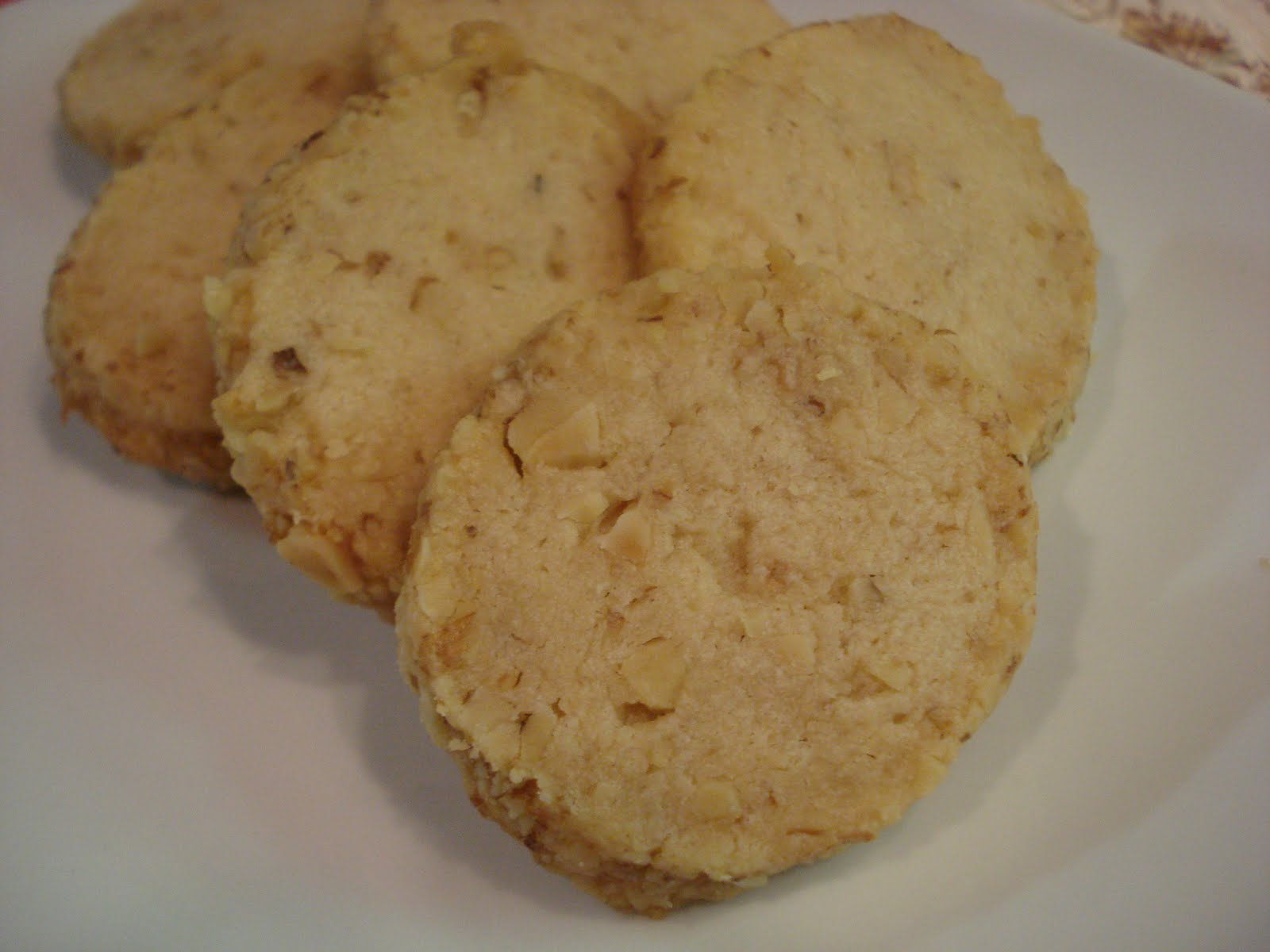Walnut Cookies Recipe — Dishmaps