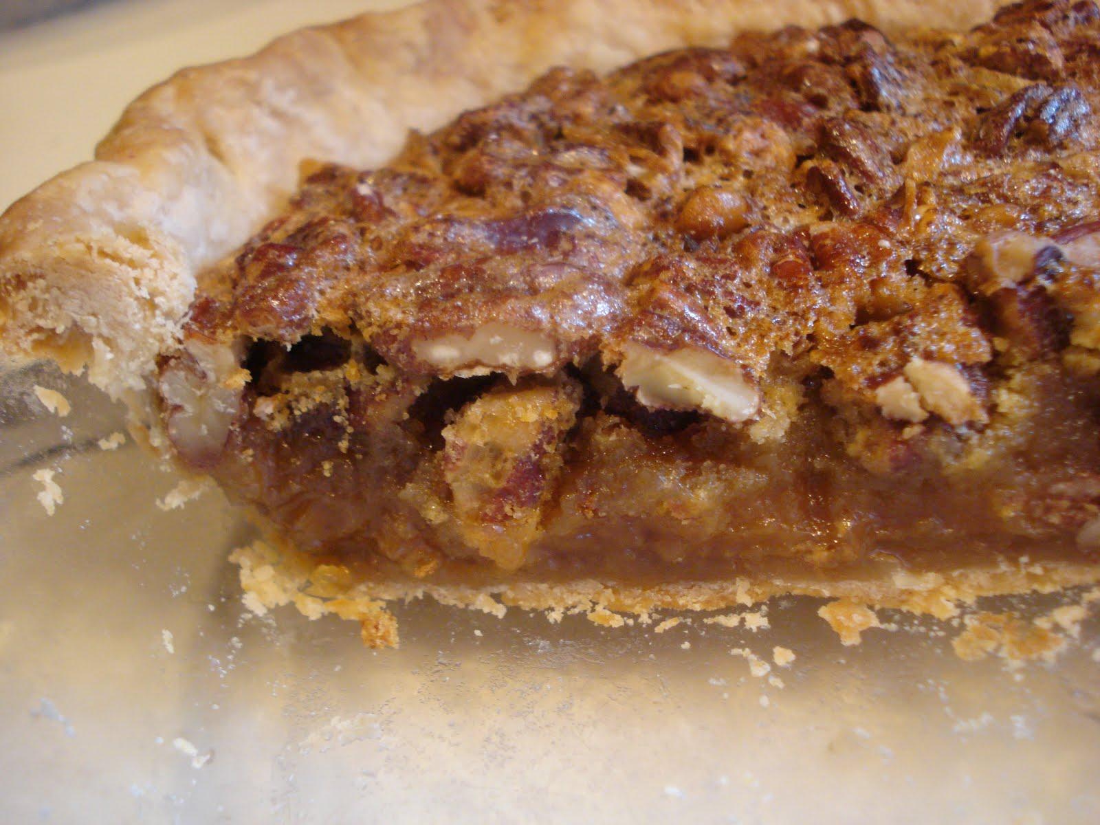 The Cookie Scoop: More Pecan Pies..Pie Pan vs. Pie Plate
