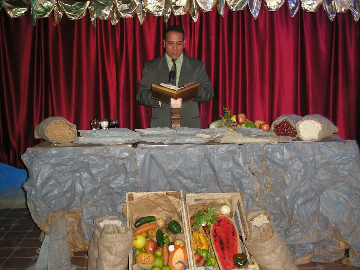 Oración de los Pastores Bendiciendo las Primicias