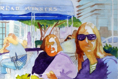 Steve Penberthy - Watercolor Painting : Bread Winners