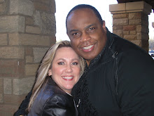 Deborah poses with Alvin Slaughter