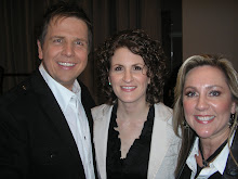 Deborah poses with Lindell and Amber Cooley