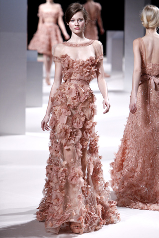 Labense Designer Elie Saab A Newcomer In The Haute Couture World Continues To Dazzle Us With His Wonderful Gowns Was First Recognized By