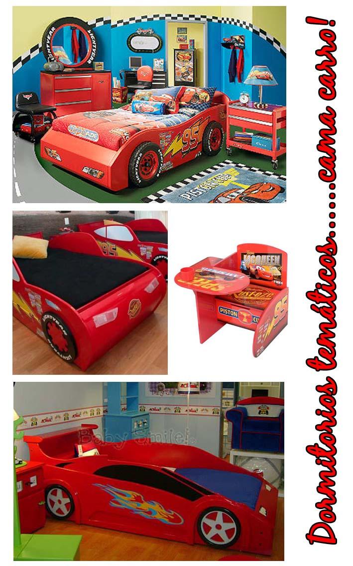 Infantiles dormitorios temticos para nios cama carro - Dormitorios de cars ...