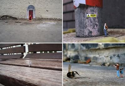 Projeto Little People propõe reflexão acerca da solidão e insignificância do homem que vive nas grandes cidades