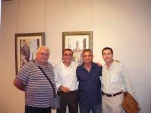 Con Acuarelistas Alicantinos