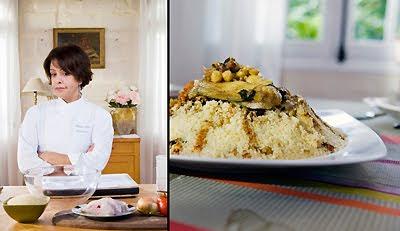 Fatema Hal pour l'émission Côté cuisine FR3