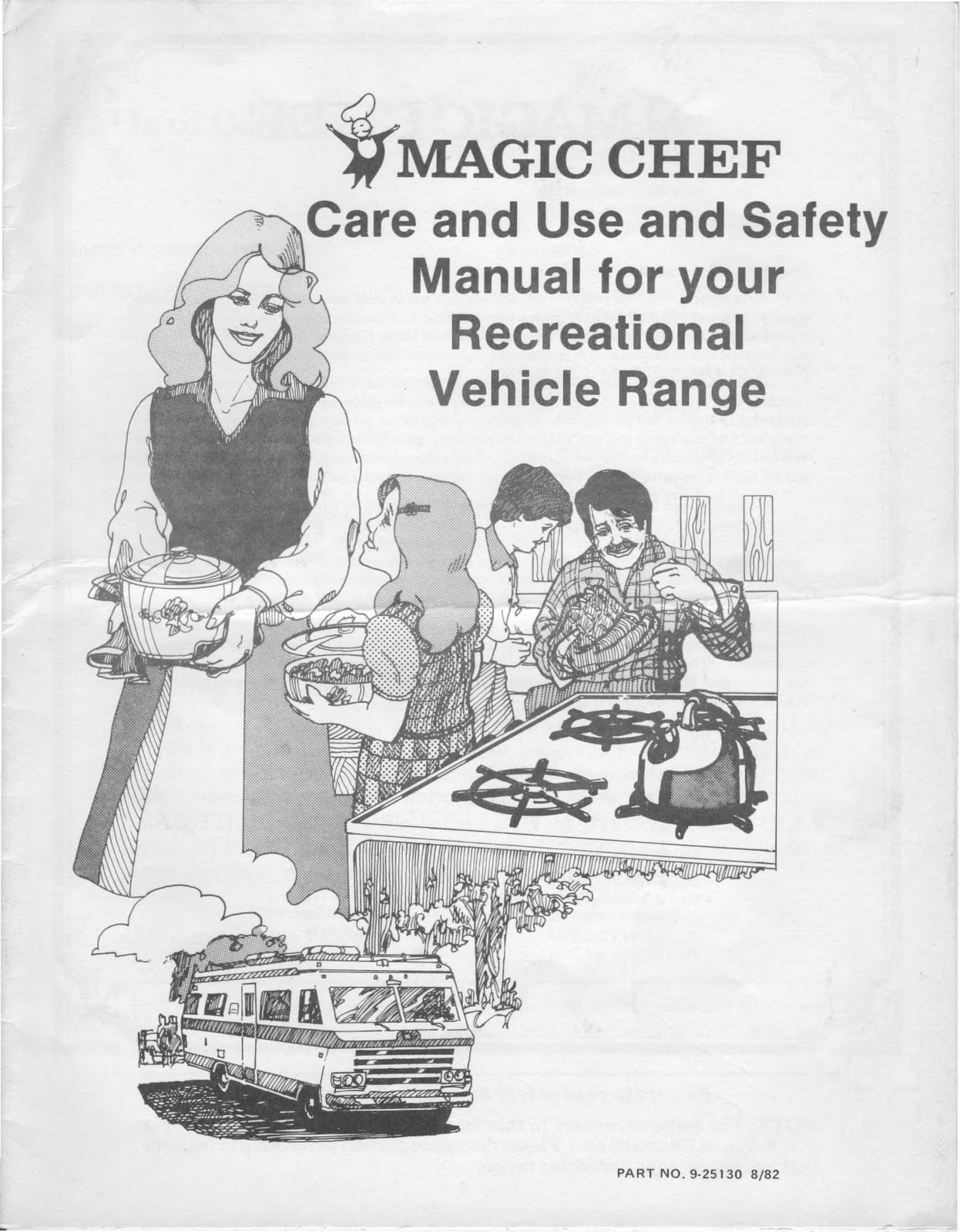 Magic Chef Rv Stove Manual