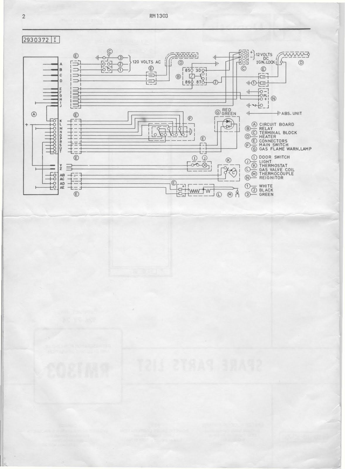 57 chevy heater diagram