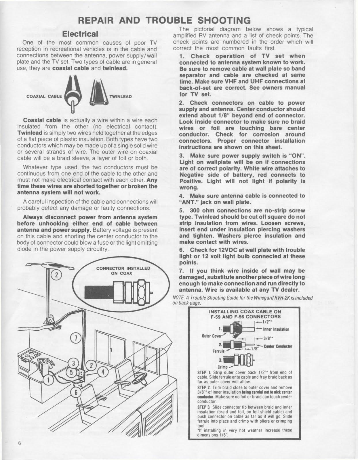 Camper Wiring Diagram Manual : Winegard rv satellite wiring diagrams get free image