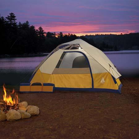 Tent dweller