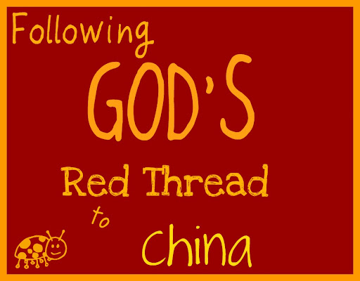 Following God's Red Thread to China