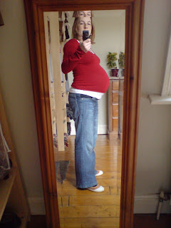me at 32 weeks