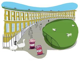 Lucie Sheridan: Bath Crescent