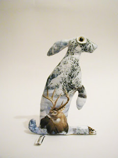 Baby Hare Arkasha Soft Sculpture