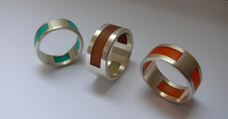 Jane Gallagher: Resin & silver jewellery