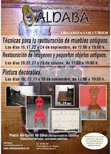 Próximos cursos de restauración de muebles, de imágenes y de pintura decorativa