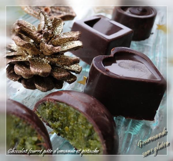 chocolats fourrés sans gluten