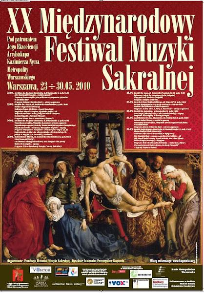 XX Festival di Musica Sacra - Varsavia