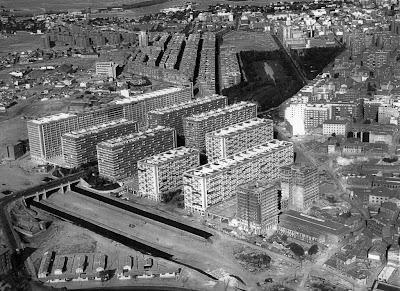 Ampliación del Barrio de la Concepción en construcción