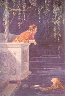 Sirenita babeando por el príncipe
