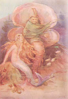 Sirenita y bruja