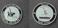 "Guns Platoon coin John Michael   Part of ""The Guns Platoon"""