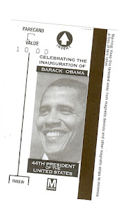 "Metro pass Obamamania and ""The Old Guard on Parade   2009"" ??"