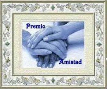 "Premio"" AMISTAD"""