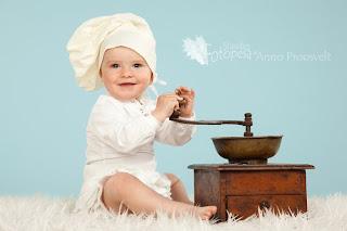 beebitüdruk kohviveskiga, Fotostuudio Fotopesa