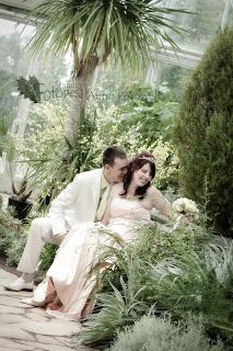 botaanika aed, pulmafoto