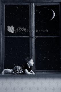 Fotostuudio  Fotopesa Tallinnas tähed ja kuu
