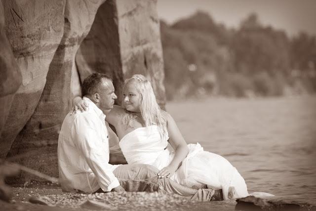 pulmafoto, pruutpaar
