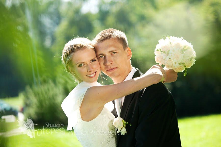 pulmafoto, pruutpaar kimbuga