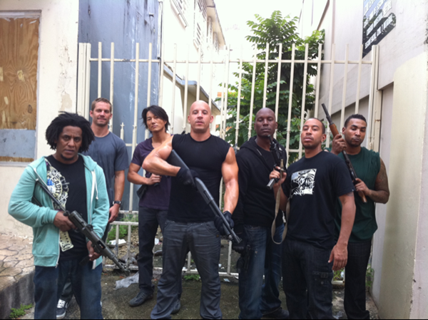 fast five cast. Action thriller Fast Five