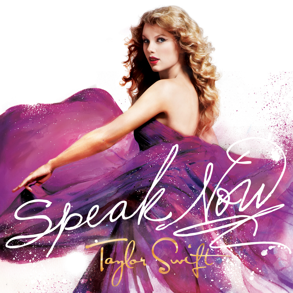 Brio Nova: Taylor Swift Speak Now Album Art