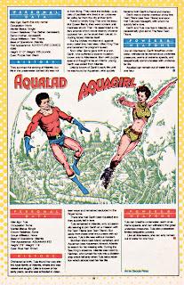 Aqualad y Aquagirl