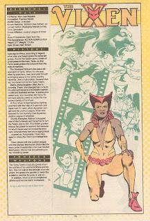 Vixen DC Comics