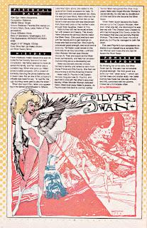 Silver Swan DC Comics