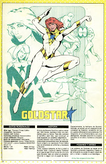 Estrella Dorada (ficha dc comics)