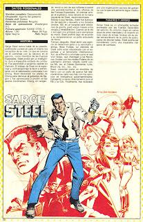 Sarge Steel (ficha dc comics)