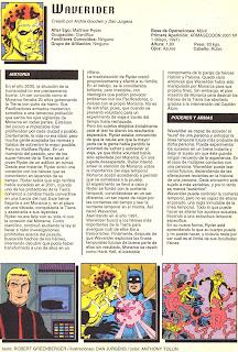 Waverider (ficha dc comics)