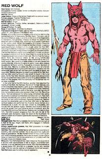 Lobo Rojo (ficha marvel comics)