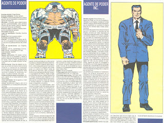 Agente de Poder (ficha marvel comics)