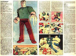Hombre de Arena (ficha marvel comics)