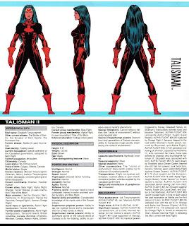 Talisman (ficha marvel comics)